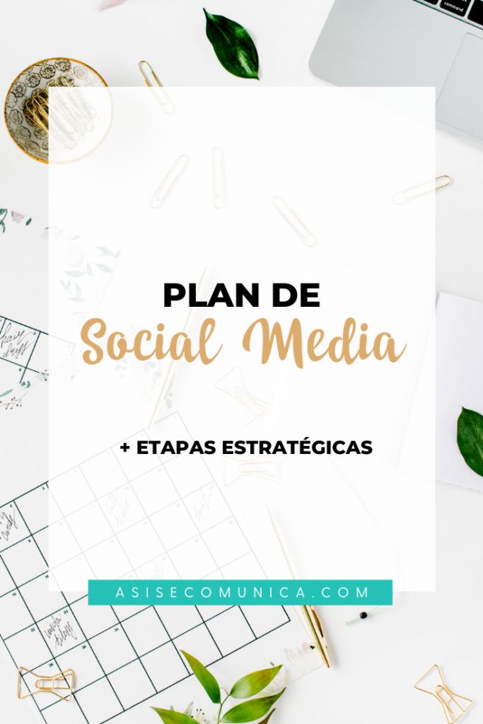 Qué es un Plan de Social Media
